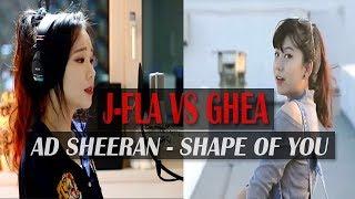 Ghea Indrawari ft JFla - Shape of You by Ed Sheeran [Cover]