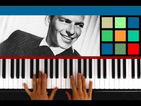 "How To Play ""Fly Me To The Moon Piano"" Piano Tutorial (Frank Sinatra)"