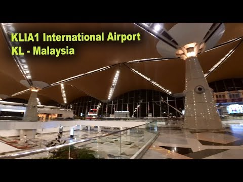 KLIA1 INTERNATIONAL AIRPORT KL-MALAYSIA (INSIDE)