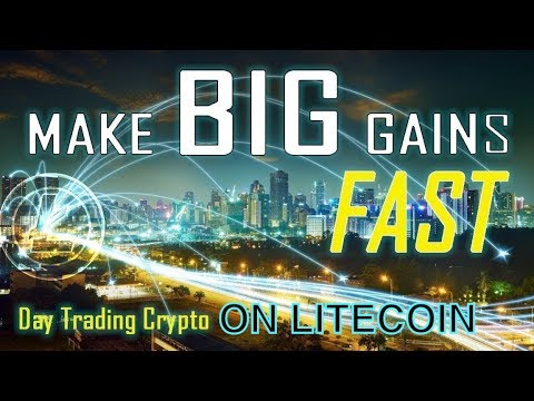 How To Day Trade Cryptocurrency - Day Trading Litecoin - Easy Daily Profits