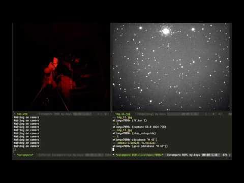 Live coding the stars!