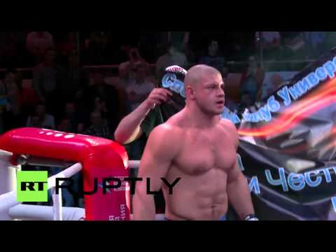 Russia: Shtyrkov knocks out Jeff Monson in 30 seconds during rumble in Yekaterinburg