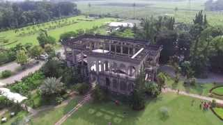 The Ruins - Talisay City, Negros Occidental, Philippines -   Aerial View