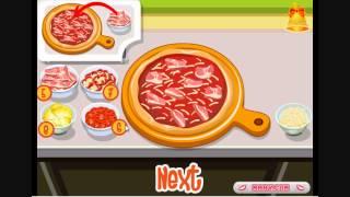 Готовим пиццу с Тессой - Игры о принцессе Тесса