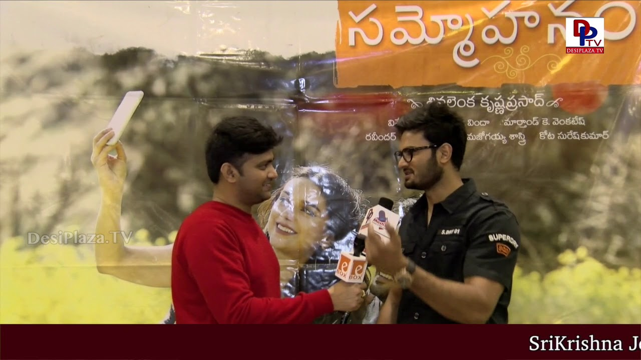 Visuals from Sudheer Babu's 'Sammohanam' Teaser Success Meet in Dallas, USA | DesiplazaTV