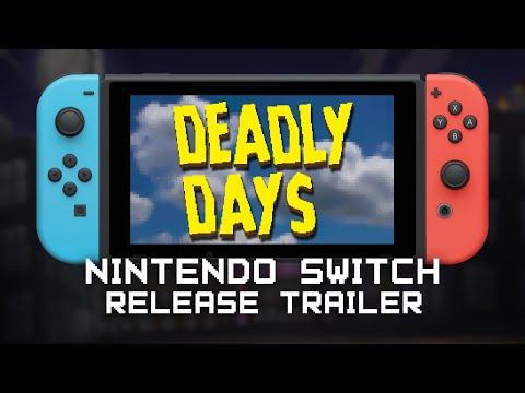 Deadly Days | Nintendo Switch Release Trailer (DE)