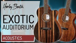 Harley Benton CLA-15CE - Exotic Wood