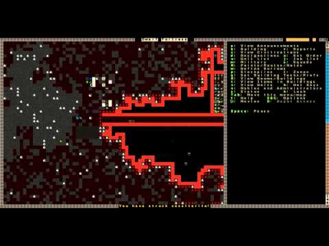"Let's Play: Dwarf Fortress - Episode 1 ""Welcome to Walledtrampled!"""