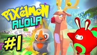 Pixelmon Alola - EPIC CHRISTMAS POKEMON! (Pixelmon 5.0 PokeTrials Server) #1
