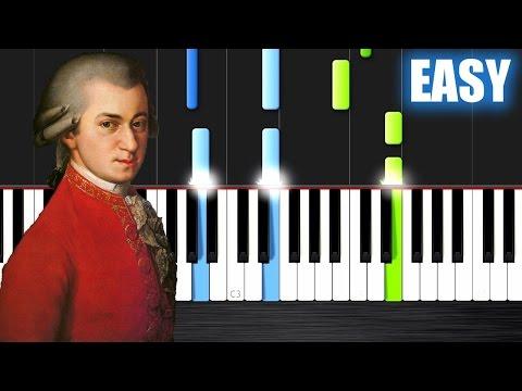 Mozart - Sonata No. 11 in A Major - EASY Piano Tutorial by PlutaX