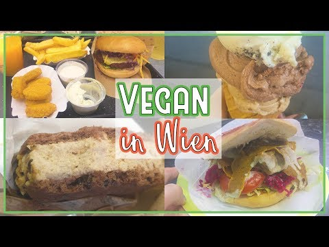 VEGAN ESSEN in WIEN 🍔 || What I Ate in Vienna 🍦