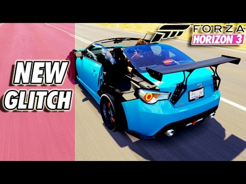 Forza Horizon 3 - Removing Body Parts Glitch GT86 (Chance of Being Banned)