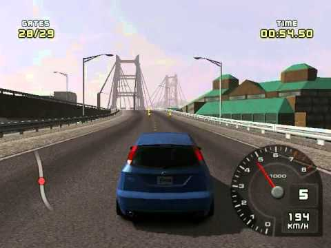 ford racing 2 for pc with my car : ford focus svt 2002