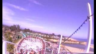 Giant Dipper Ride at the Santa Cruz Beach Boardwalk