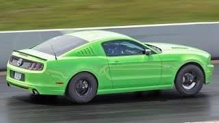 1000hp twin turbo mustang the green machine