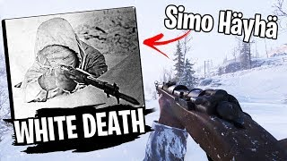 The 'White Death' Challenge - Sniper iron sights ONLY! (BF5 Firestorm)