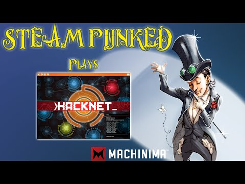 An introduction to Hacknet - Steam Punked #letsplay #steampunked