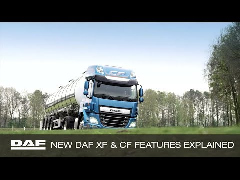DAF Trucks UK | New DAF CF and XF Features Explained | Pure Excellence
