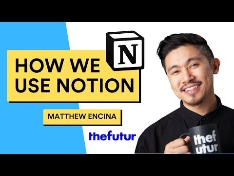 How We Use Notion  | The Futur Edition | A Chat with Matthew Encina