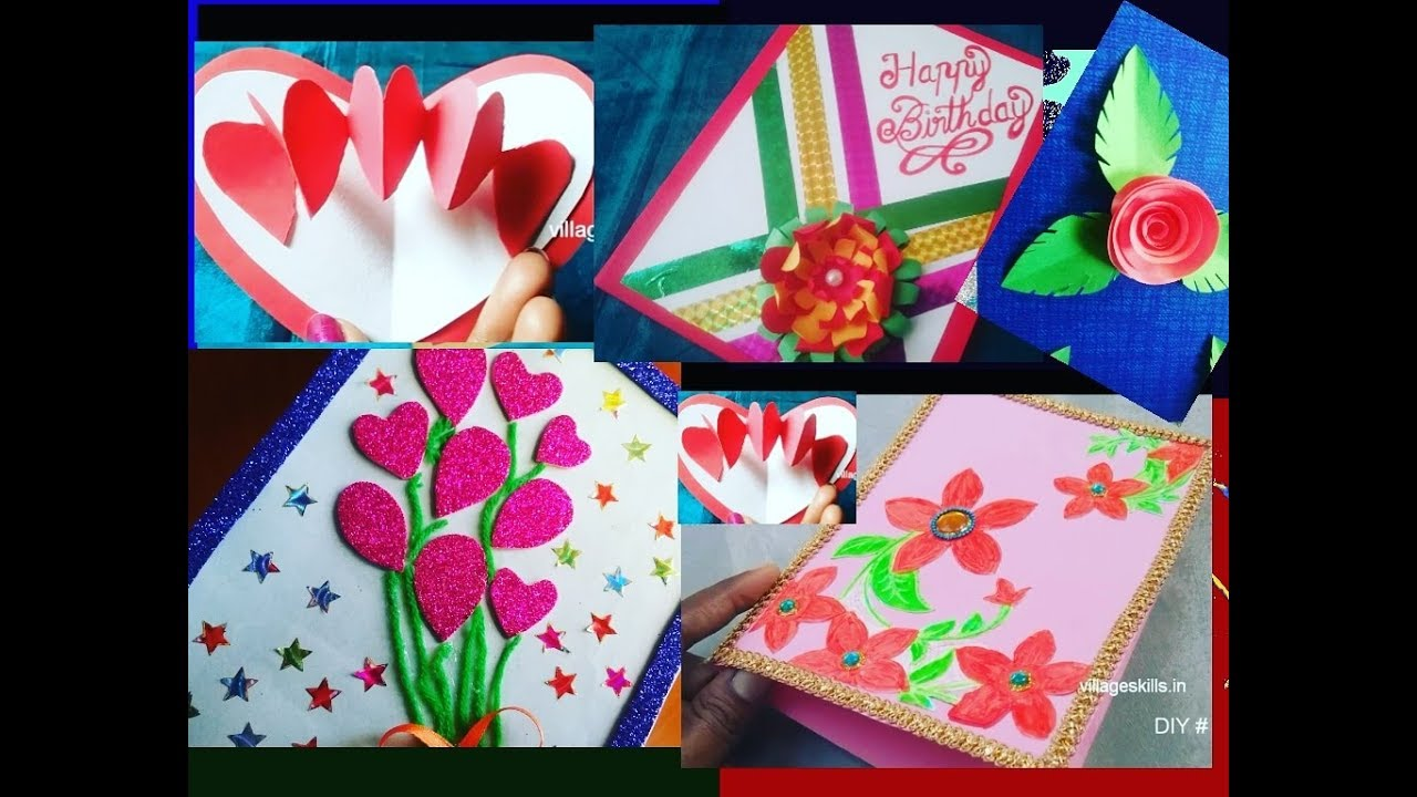 5 diy easy new year 2019 greeting cards l how to make