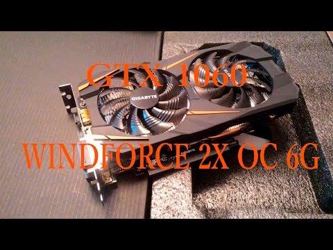 GIGABYTE GTX 1060 WINDFORCE 2x OC 6GB in 7 games (i5 3470)