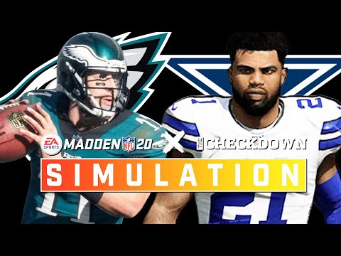 Eagles Vs. Cowboys Week 16 Full Game: NFC East On The Line! | Madden 2020 Season Simulation