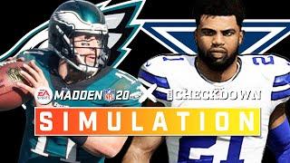 Eagles vs. Cowboys Week 16 Full Game: NFC East on the Line! | Madden 2020 Season Simulation