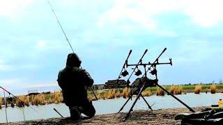 ОХОТА на ДИКОГО САЗАНА в АПРЕЛЕ рыбалка с НОЧЁВКОЙ на ДИКАРЕ