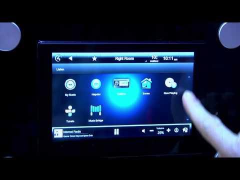Vidéo Cinenow : ISE 2013 Control4 Wireless Music Bridge