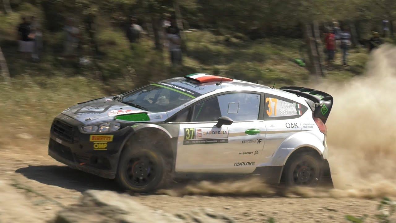 Day 2 - Rally Italia Sardegna 2016 - L. Bertelli