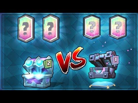 ULTIMATE CHAMPION CHEST vs NEW LEGENDARY KINGS CHEST OPENING! | Clash Royale | DRAFT vs KINGS CHEST!