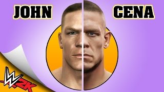 JOHN CENA evolution [WWE SMACKDOWN HERE COMES THE PAIN - WWE 2K16]