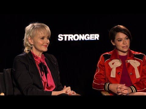 with Miranda Richardson and Tatiana Maslany for Stronger