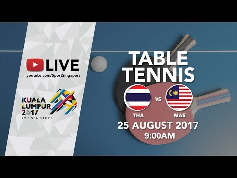 Table Tennis 🏓 Women's Team: Thailand 🇹🇭 vs Malaysia 🇲🇾 | 29th SEA Games 2017
