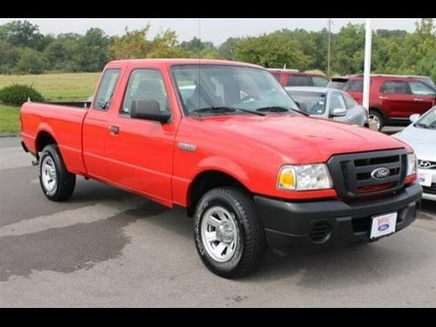 pretty tiny pickup truck. 2008 Ford Ranger XL In O Fallon  Small Pickup Truck For Sale Marshall YouTube