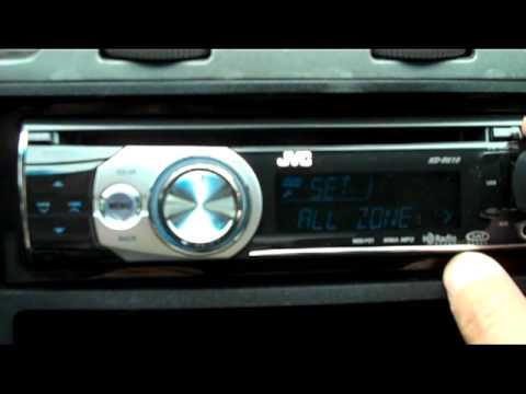jvc kdr610 car deck receiver