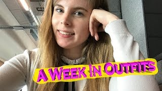 A Week in Outfits - Office Appropriate