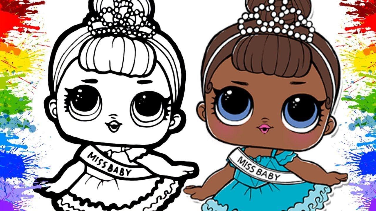 Imagens Da Lol Para Pintar E Imprimir: Desenhos Para Colorir Das Bonecas Lol Surpresa LOL T