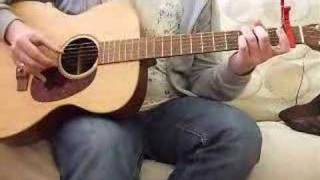 Mississippi John Hurt - Spike Driver Blues (cover) on Martin 000X1