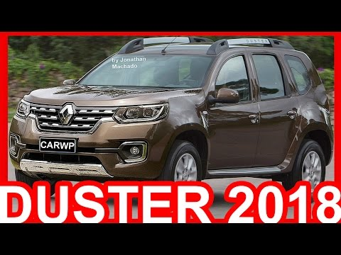 PHOTOSHOP Renault Duster 2018 Facelift Duster