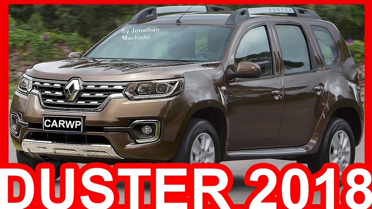 PHOTOSHOP Renault Duster 2018 Facelift #Duster - YouTube