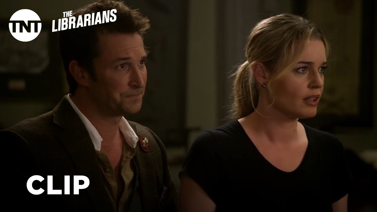 Download The Librarians: Flynn and Eve Go Back In Time - Season 2 Ep.10 [CLIP] | TNT