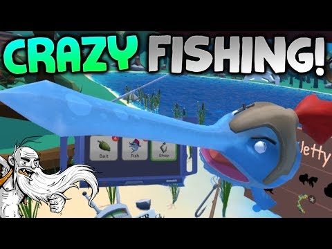 "Crazy Fishing VR Gameplay - ""I'VE GONE VR FISHING!!!"" HTC Vive Virtual Reality Let's Play"