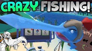 "Crazy Fishing VR Gameplay - ""I"