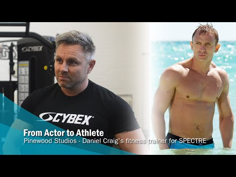From Actor to Athlete Daniel Craig's fitness trainer