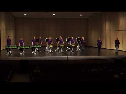 Waterford Kettering High School Drumline - MSU Day of Percussion - 10/15/2017
