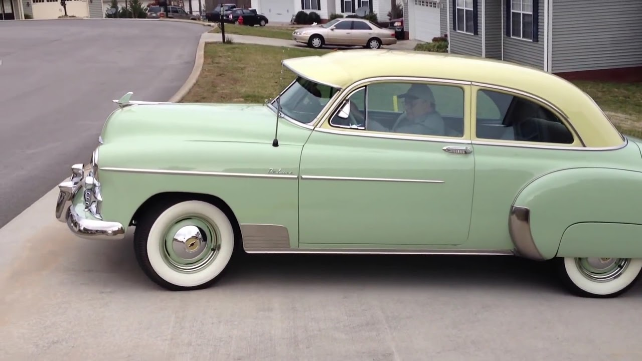 All Chevy 1951 chevy deluxe for sale : 1950 Chevrolet Styleline Deluxe 2-door Sedan for sale $29,999 www ...