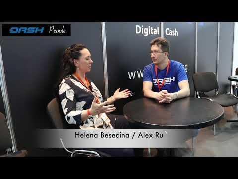 Интервью Dash People с Alex.Ru на Blockchain Conference Moscow 2018