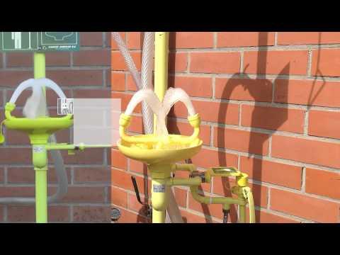 Safety Shower & Eye wash - EN 15154