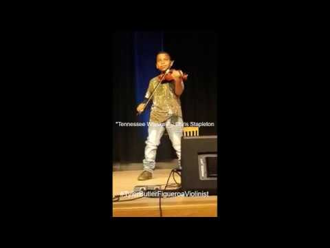 """""""Tennessee Whiskey"""" - Chris Stapleton (Violin Cover) Tyler Butler-Figueroa, 11 years old #Country"""